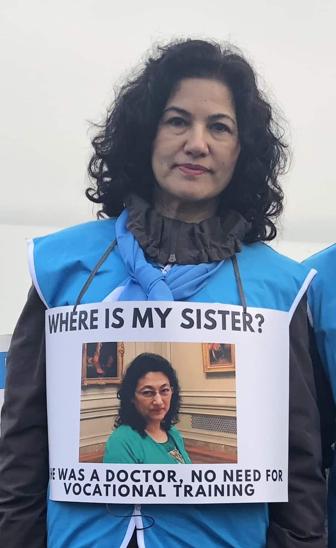 굴샨 아바스 박사는 다른 인척들과 함께 실종됐으며 누구도 그녀의 운명에 대해 알지 못한다.