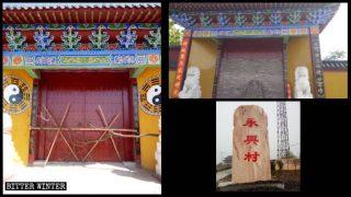 봉쇄되거나 개조되는 불교 및 도교 사원들
