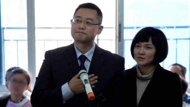 왕이 목사와 그의 아내 장룽