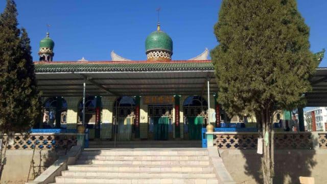 북대사(北大寺) 모스크의 본래 모습