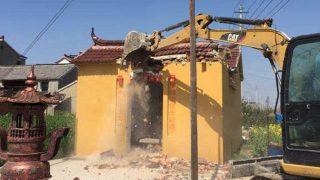 종교 싹쓸이! 중국의 민속 신앙 사원 6,000곳 파괴돼