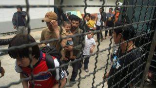 태국에 구류된 위구르인들
