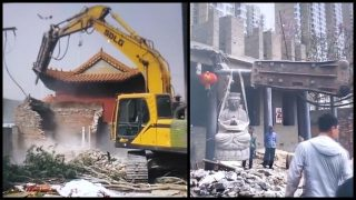 불교 유산 제거 캠페인: 고대 사찰 두 곳 연속 제거돼