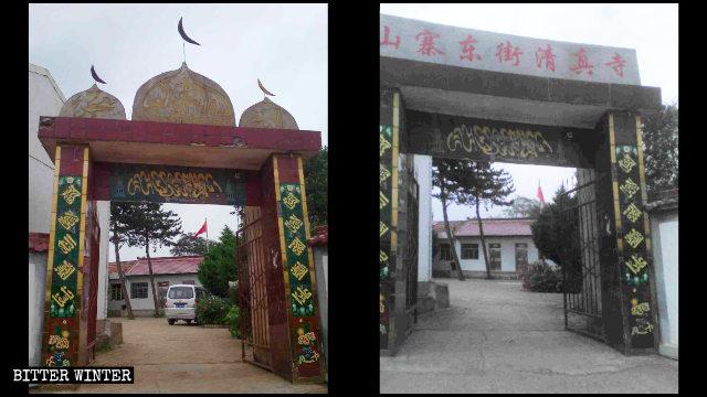 강경한 '중국화' 정책으로 두려움에 떠는 후이(回)족 주민들