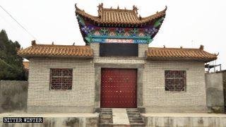 중국 공산당의 불교와 민간 신앙 장소 철거 방법