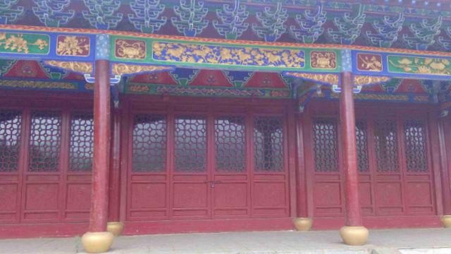 현지 당국의 명령으로 폐쇄된 자운관(紫雲觀)