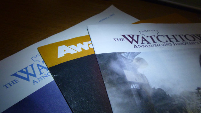 여호와의 증인에서 발행한 출판물