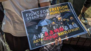 홍콩을 지지하는 모든 말들, 중국 본토에서는 금지어