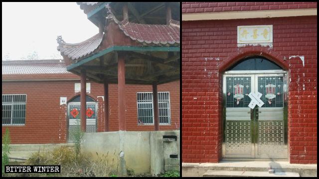 고령의 거주자가 요양원에 들어간 당일 폐쇄된 개선사(開善寺)