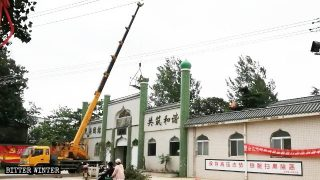 수많은 모스크와 묘가 '중국화'되는 허난성