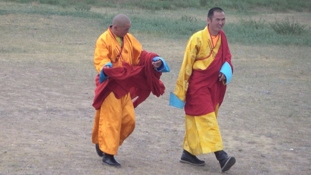 몽골의 불교 승려들