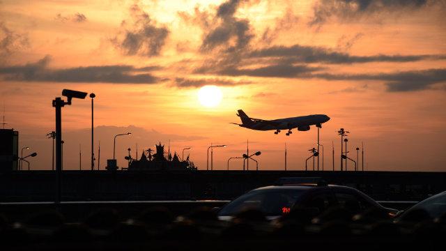 공항 비행기