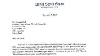2022년 올림픽 개최 자격이 없는 중국, 그러나 무대응으로 일관하는 IOC