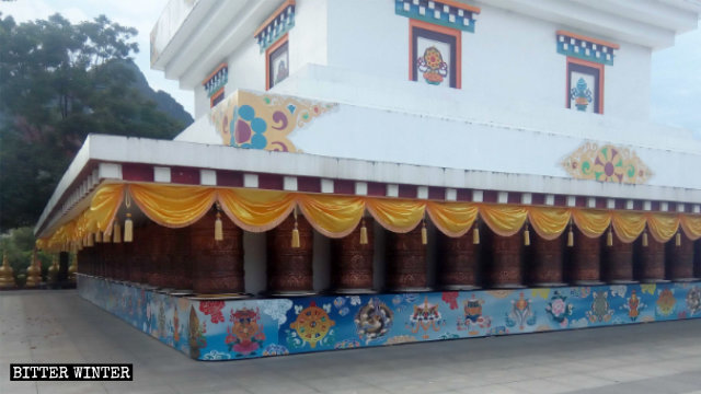 안복사(安福寺) 사리탑의 원래 모습