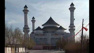 '중국화된' 닝샤자치구 웨이저우진의 대형 모스크