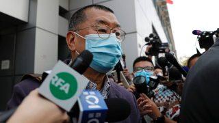2월 28일, 체포된 지미 라이(라이치잉, 黎智英)