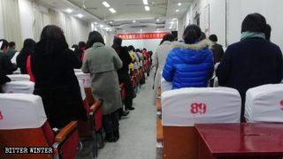 삼자교회 목사, 중국 공산당의 신조를 설교하지 않아 처벌받아