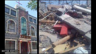 대유행병 중에도 삼자교회 파괴는 계속돼