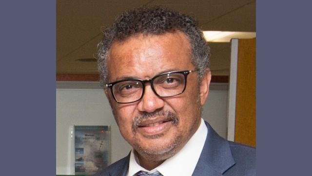 WHO의 테워드로스 아드하놈 거브러이여수스(Tedros Adhanom Ghebreyesus) 사무총장