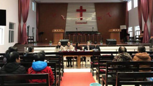 작년 말, 동부 장쑤(江蘇)성 치둥(啓東)시의 관리들이 한 삼자교회 행정부 선거를 실시했다