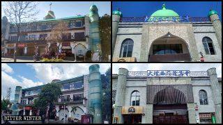 '중국화'라는 이름으로 개조된 모스크와 상점들