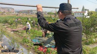 강제 철거로 생계 수단을 빼앗긴 농부들