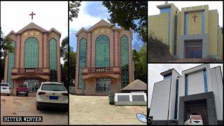 철거되거나 폐쇄된 상라오시의 400여 개 개신교 예배소