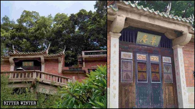 '중국화'된 마니교 사찰 초암사
