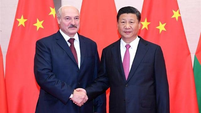 시진핑과 루카셴코 벨라루스 대통령