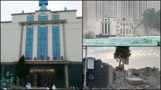 6월에 철거된 여러 관영 개신교회