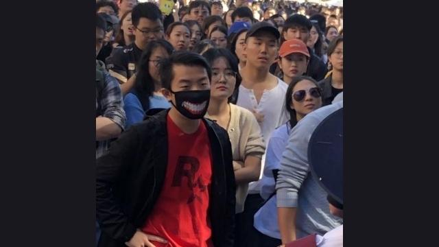 행동에 나설 준비가 된 중국인 요원들의 모습