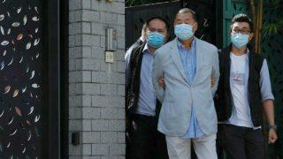 지미 라이의 체포로 중국 본토의 가톨릭 반체제인사들 한 방 먹어