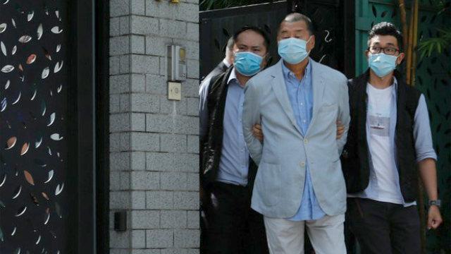 지미 라이(Jimmy Lai) 체포
